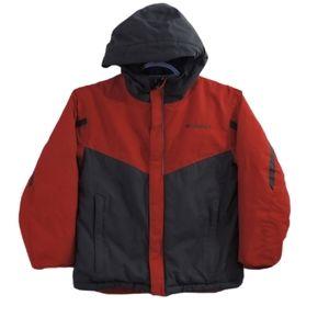 Columbia youth kids winter puffer jacket size 8
